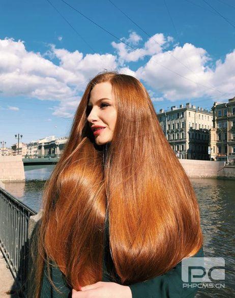 俄罗斯姑娘的头发